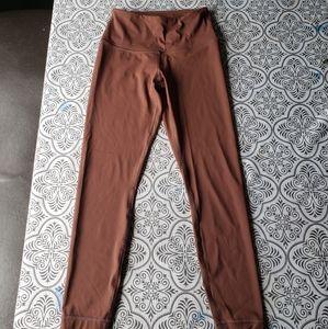 High Waisted 90 degree yoga pants.  Size xs.